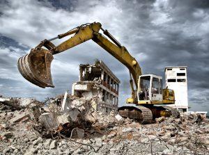 Демонтаж и снос здания Ялта