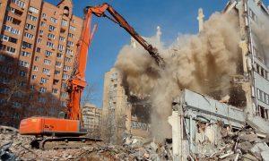 Демонтаж и снос зданий в регионах. Получение разрешения на снос. Снятие здания с учёта