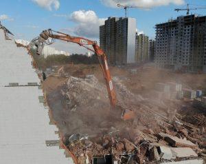 Демонтаж зданий в Московской области