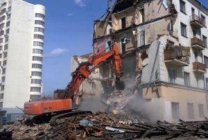 Демонтаж зданий и сооружений в Санкт-Петербурге и Ленинградской области.